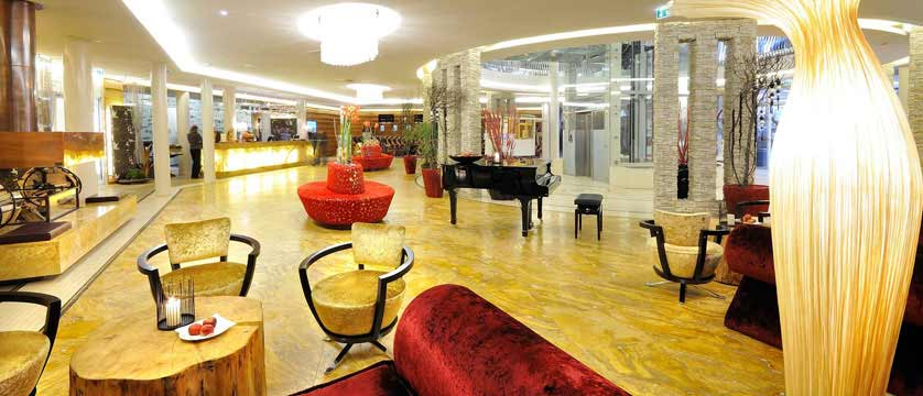 Hotel Alpine Palace, Hinterglemm, Austria - Lobby.jpg